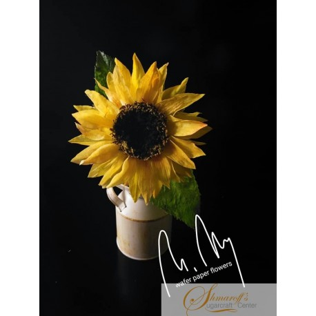 FaceBook Live Lesson  - 17.08.20 - Wafer paper Sunflower