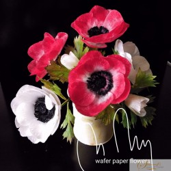 Wafer paper Persian Buttercup Video Lesson