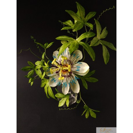 Wafer paper Passion Flower Video Lesson