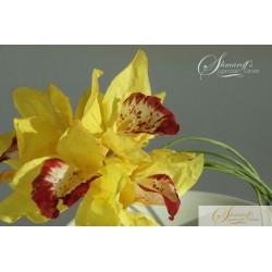 Wafer Paper Flower Cymbidium Orchid Tutorial