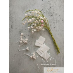 Wafer paper Lily of the Valley - Video Lesson