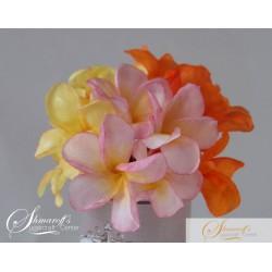 Wafer Paper Flower Frangipani Tutorial