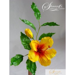 Wafer Paper Flower Hibiscus Hlower Tutorial PER ORDER