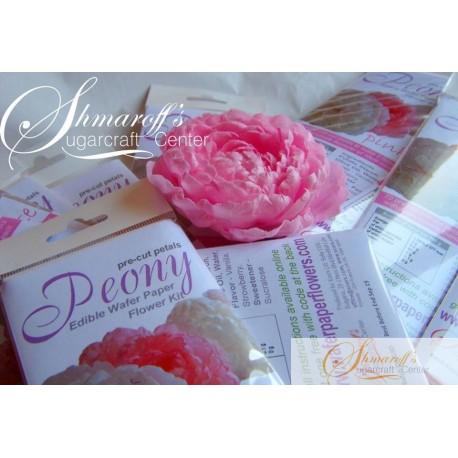 Precut Easy Peony - Pail Pink